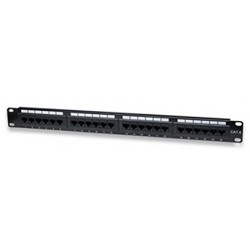 "WP Patch Panel 24 Puertos 19"" UTP Cat. 6"