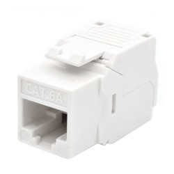 WP Keystone Cat. 6a UTP RJ45/Hembra Blanco