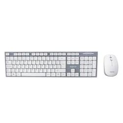 approx teclado+Ratón APPKBWELEGANT blanco-gris