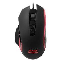 MarsGaming MM018 Ratón 4800DPI RGB SW 8 botones