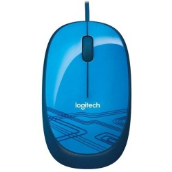 Logitech Ratón Optico 1000dpi  M105 Azul