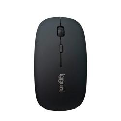 iggual Ratón Bluetooth BOM-1600DPI negro