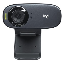 Logitech C310 WebCam HD 720p 5Mpx USB negro