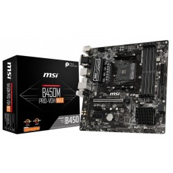 MSI Placa Base B450M PRO-VDH MAX AM4