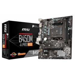 MSI Placa Base B450M-A PRO MAX AM4