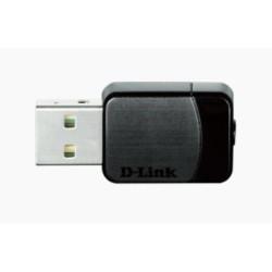 D-Link DWA-171 Tarjeta Red WiFi AC750 Nano USB