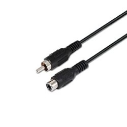 CABLE RCA EXTENSION  M/H  5.0 M
