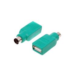 ADAPTADOR USB A PS/2  TIPO A/H-PS/2/M