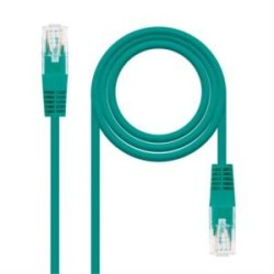 CABLE RED LATIGUILLO RJ45 LSZH CAT.6A UTP AWG24  VERDE  3.0 M