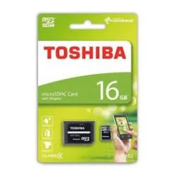 TOSHIBA T.memoria micro SD 16GB 1 adap
